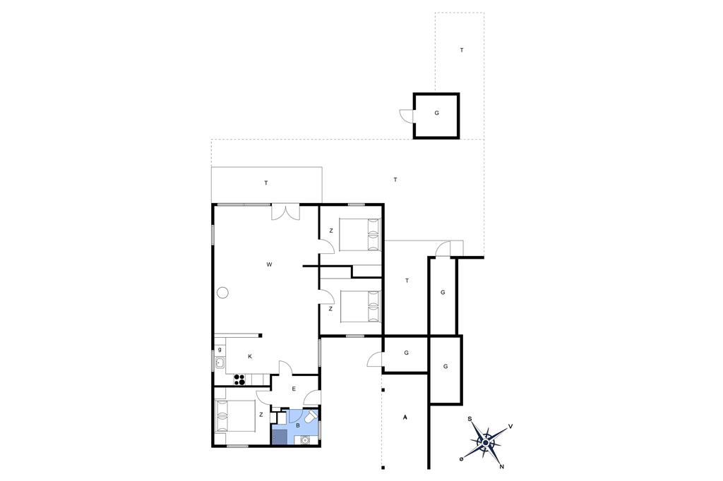 Innenausstattung 1-3 Ferienhaus M64525, Sitkavænget 22, DK - 5450 Otterup
