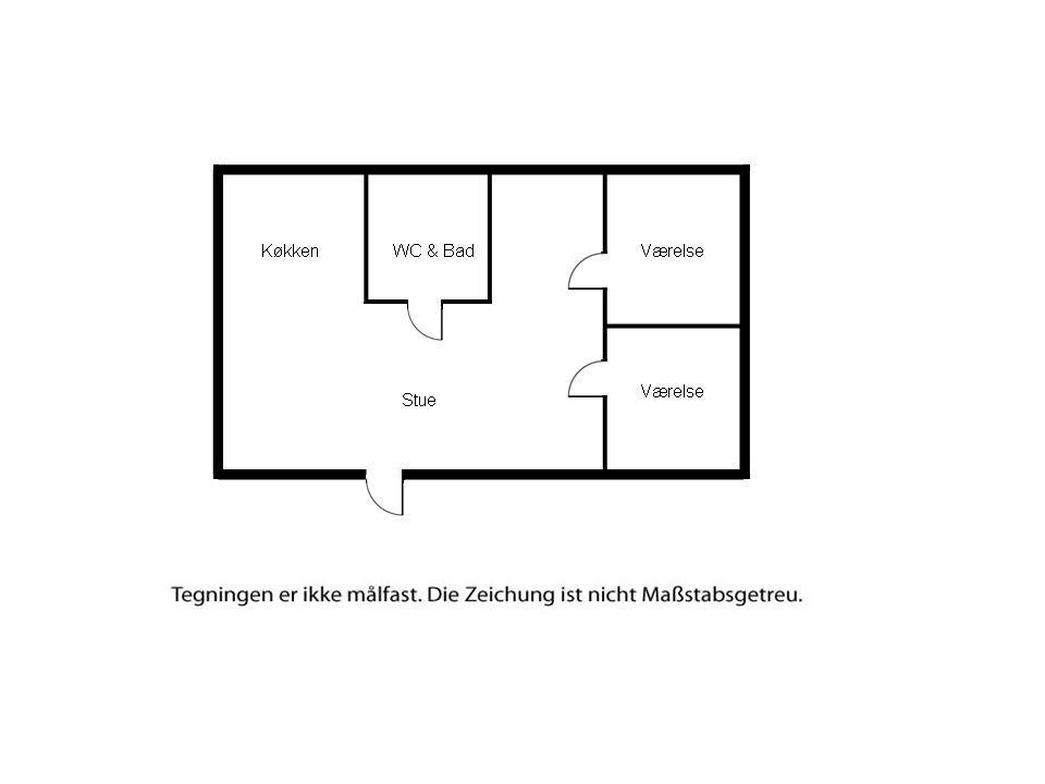 Indretning 1-6 Sommerhus N159, Kirkebakken 40, DK - 4736 Karrebæksminde
