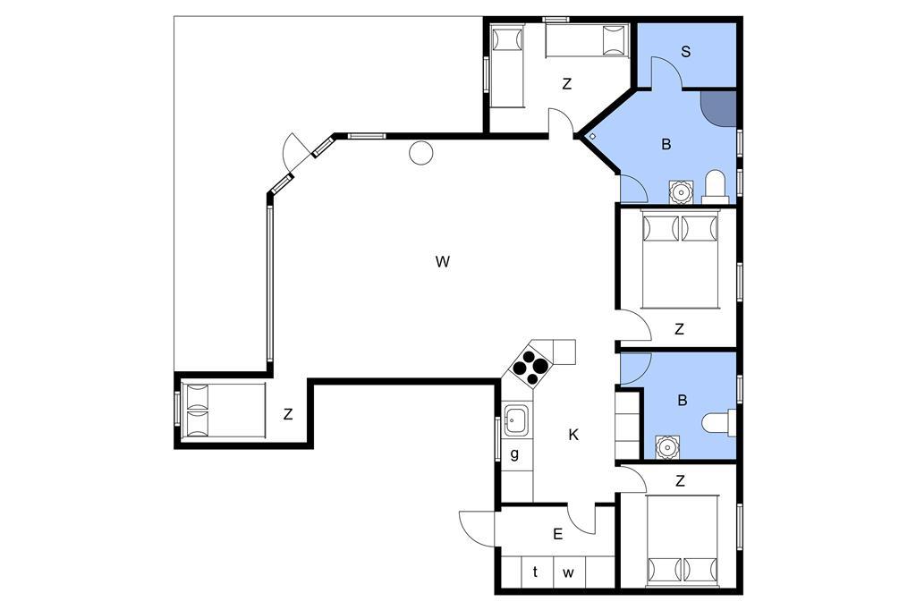 Interieur 1-3 Vakantiehuis M64371, Hyttevej 6, DK - 5464 Brenderup Fyn