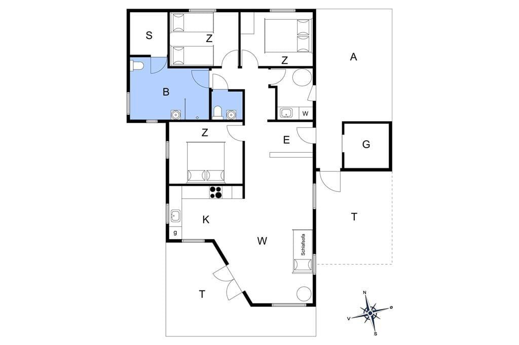 Innenausstattung 1-17 Ferienhaus 17705, Ravnholt 36, DK - 4591 Føllenslev