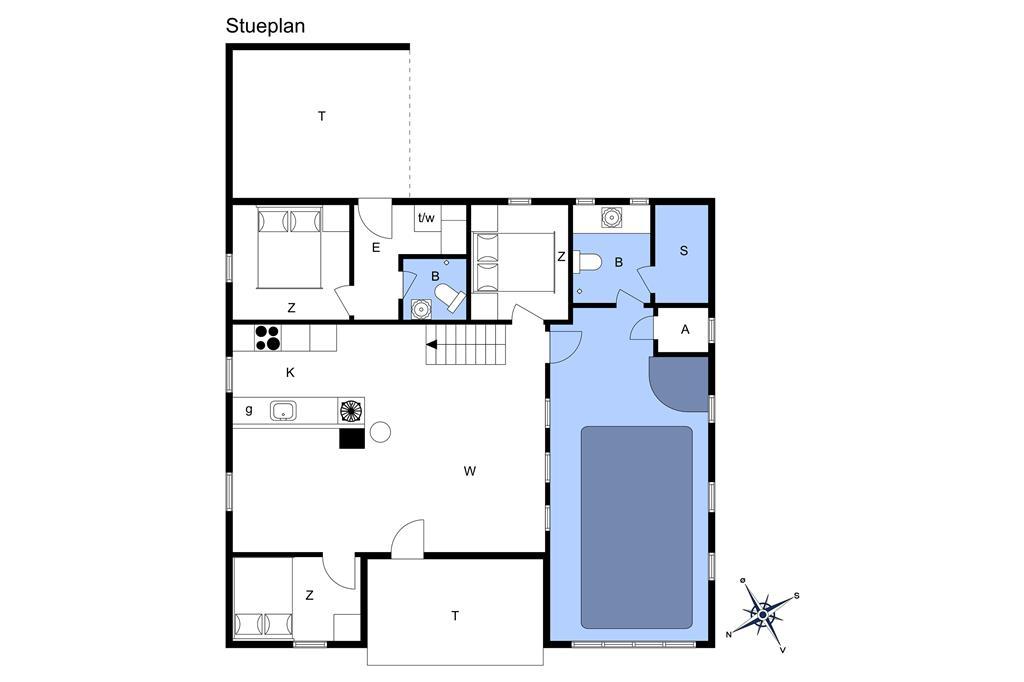 Innenausstattung 1-13 Ferienhaus 652, Ørredvej 58, DK - 7700 Thisted