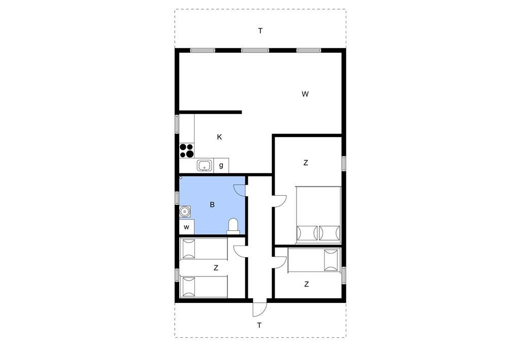 Innenausstattung 1-11 Ferienhaus 0386, Vestergade 3, DK - 6792 Rømø