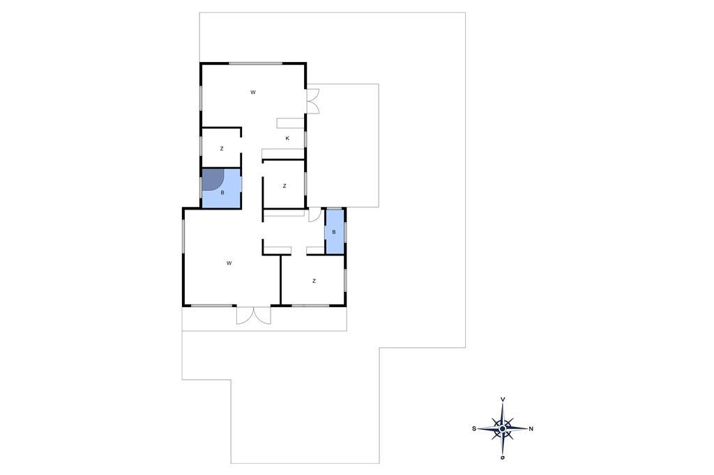 Innredning 1-10 Feirehus 3627, Sandstien 5, DK - 3730 Nexø