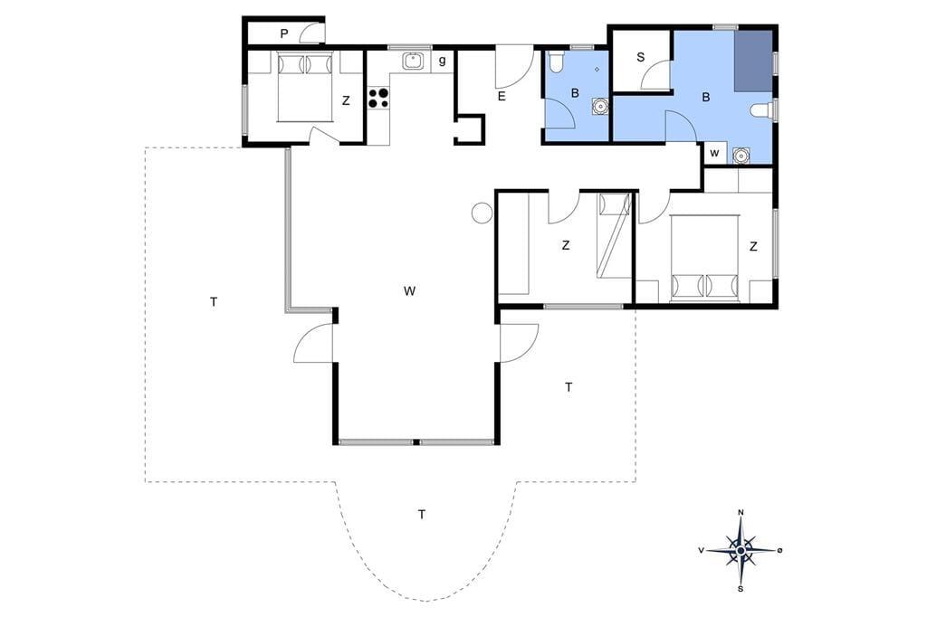 Innenausstattung 1-172 Ferienhaus JB402, Kronvildtvej 162, DK - 9460 Brovst