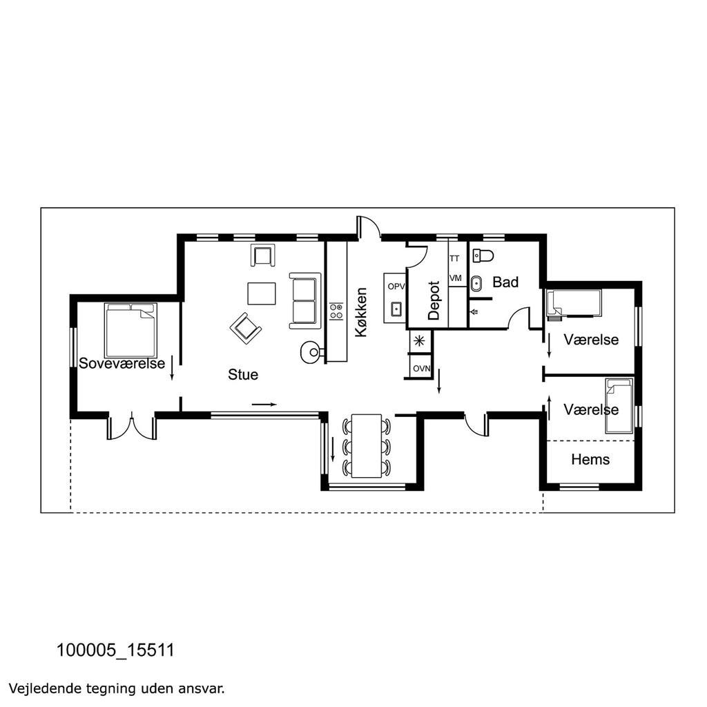 Interieur 1-17 Vakantiehuis 15511, Egebakken 55, DK - 4550 Asnæs