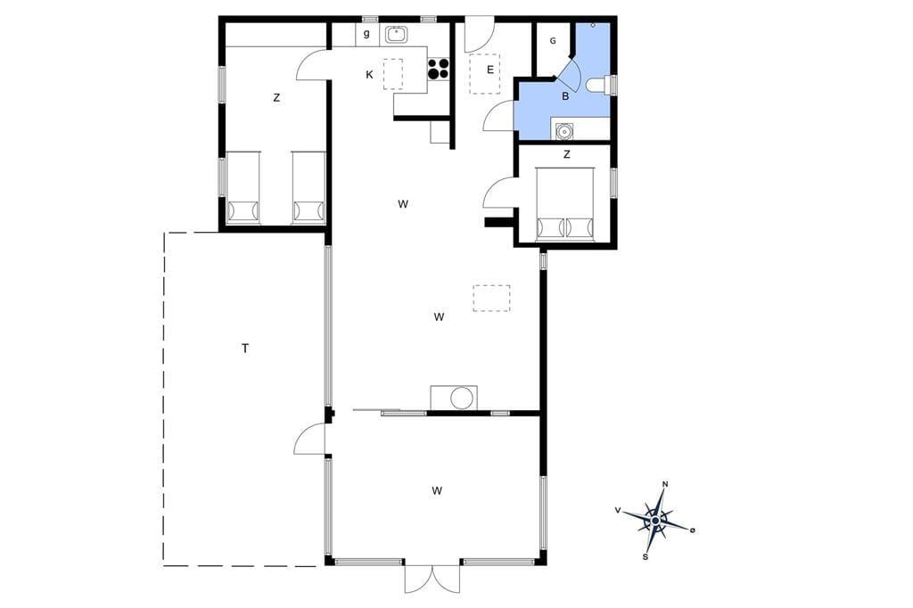 Interior 1-13 Holiday-home 647, Skibstedvej 7, DK - 7760 Hurup Thy