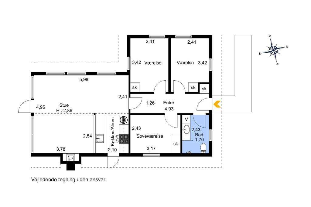 Interieur 1-1336 Vakantiehuis 1065-N, Lisevænget 13, DK - 3360 Liseleje