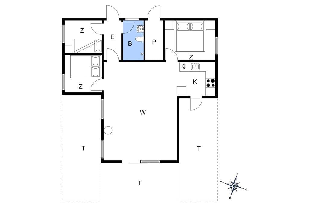 Interior 1-3 Holiday-home L15176, Livøvej 8, DK - 7840 Højslev