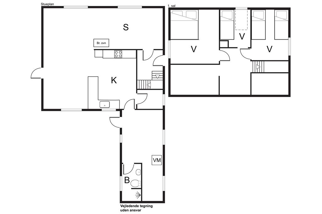 Interieur 1-170 Vakantiehuis 20402, Mågevej 6, DK - 8305 Samsø