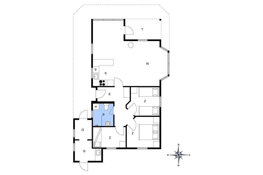Interieur 1-13 Vakantiehuis 966, Ajs Mølls Vej 20, DK - 7700 Thisted
