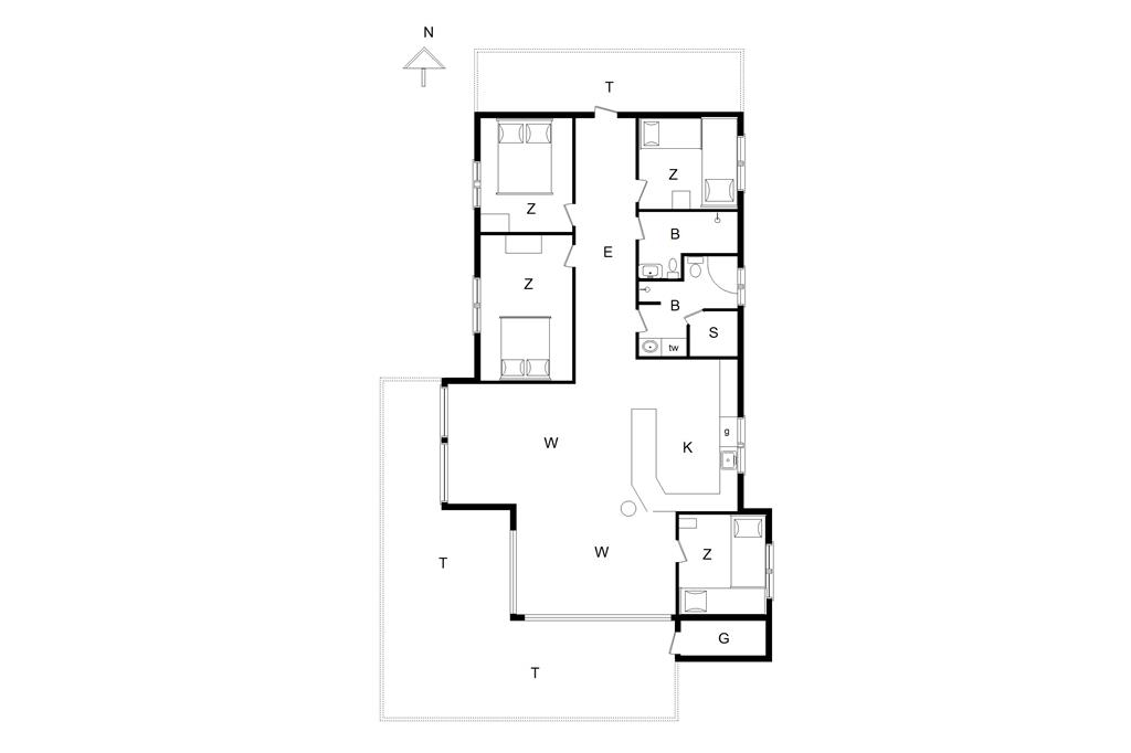 Interior 1-14 Holiday-home 481, Rødhusparken 10, DK - 9490 Pandrup