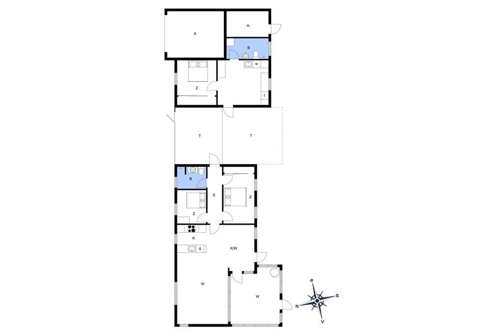 Interieur 1-14 Vakantiehuis 1605, Solbakkevej 12, DK - 9492 Blokhus