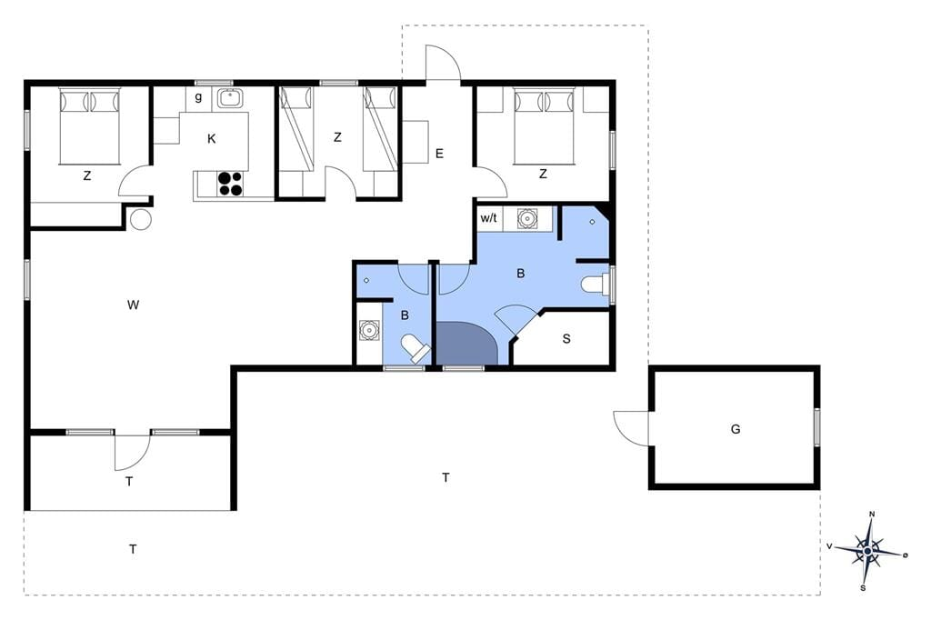 Interieur 1-175 Vakantiehuis 10715, Gaffelbjergvej 41, DK - 6990 Ulfborg