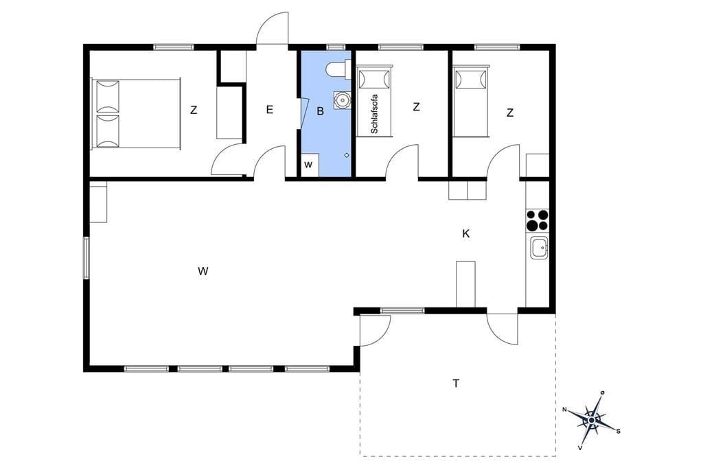 Interieur 1-17 Vakantiehuis 10044, Koralvænget 9, DK - 4581 Rørvig