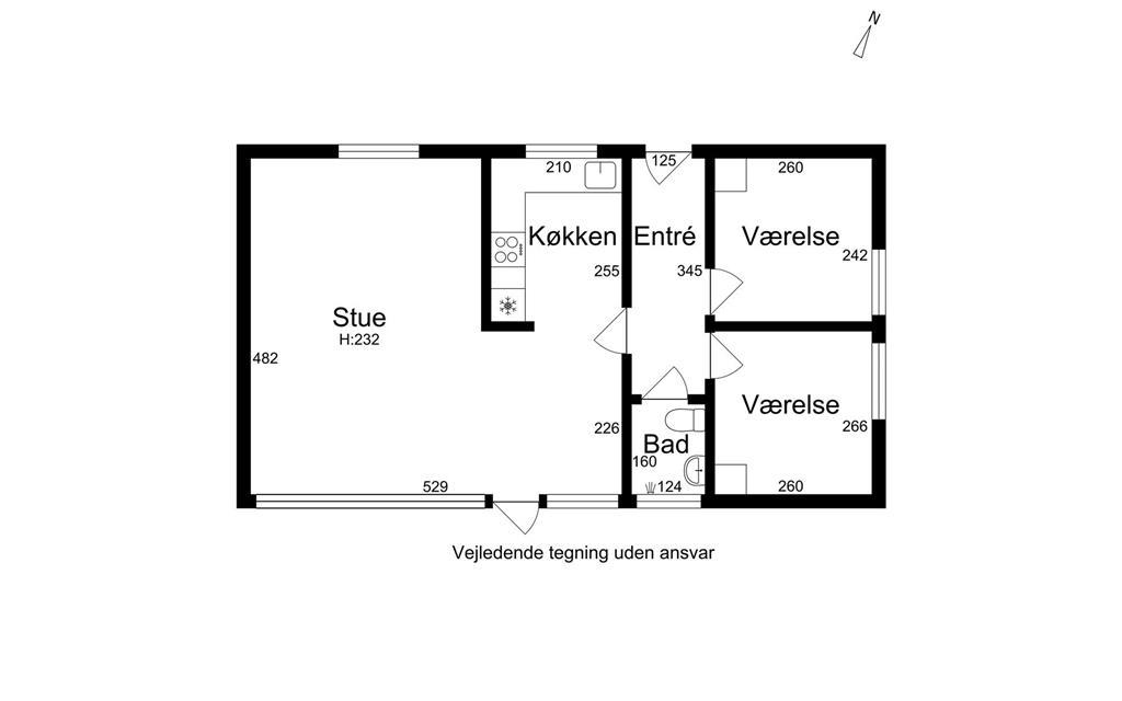 Innenausstattung 1-26 Ferienhaus K19027, Stenvendervej 10, DK - 4400 Kalundborg