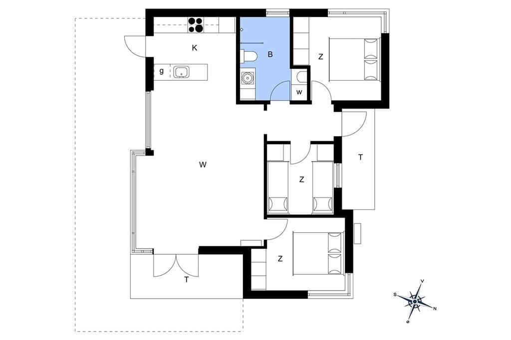 Indretning 1-1336 Sommerhus 1181-N, Revlingsvinget 13, DK - 3300 Frederiksværk