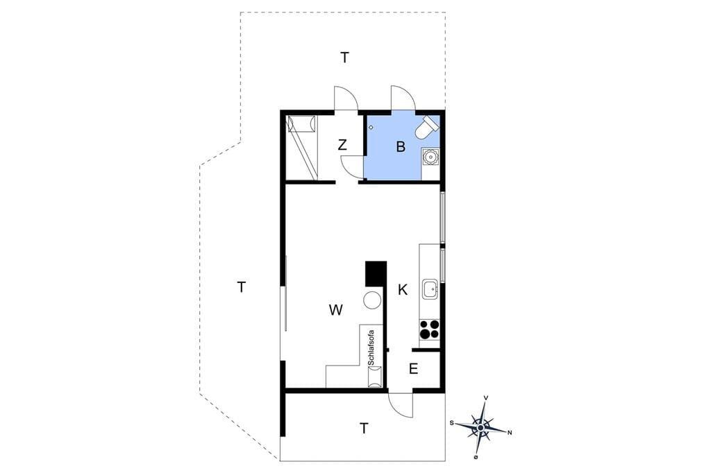 Innenausstattung 1-176 Ferienhaus BL1576, Flaskehalsen 7, DK - 9490 Pandrup