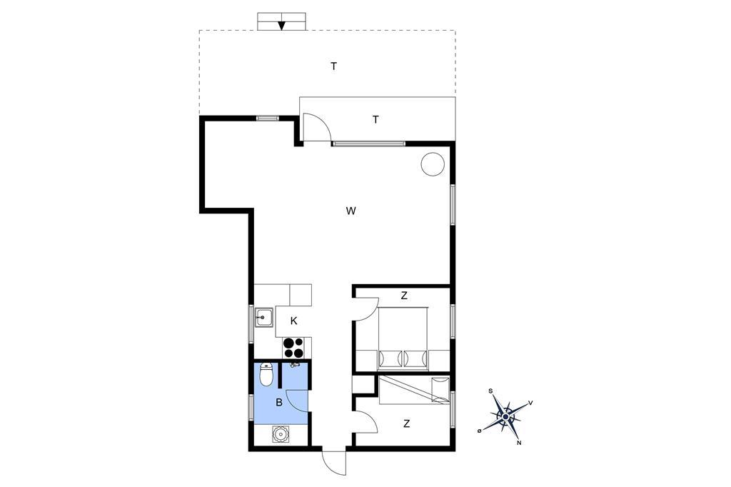 Innredning 1-26 Feirehus SL224, Østre Strand 217, DK - 4230 Skælskør
