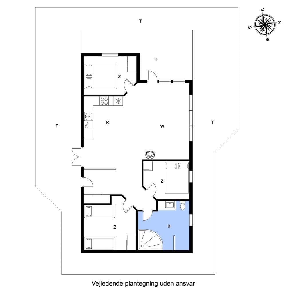 Indretning 1-20 Sommerhus G111, Myntevej 11, DK - 7620 Lemvig