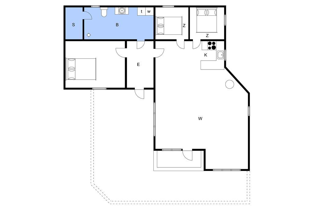 Interieur 1-3 Vakantiehuis L15231, Jelsevej 206, DK - 7840 Højslev