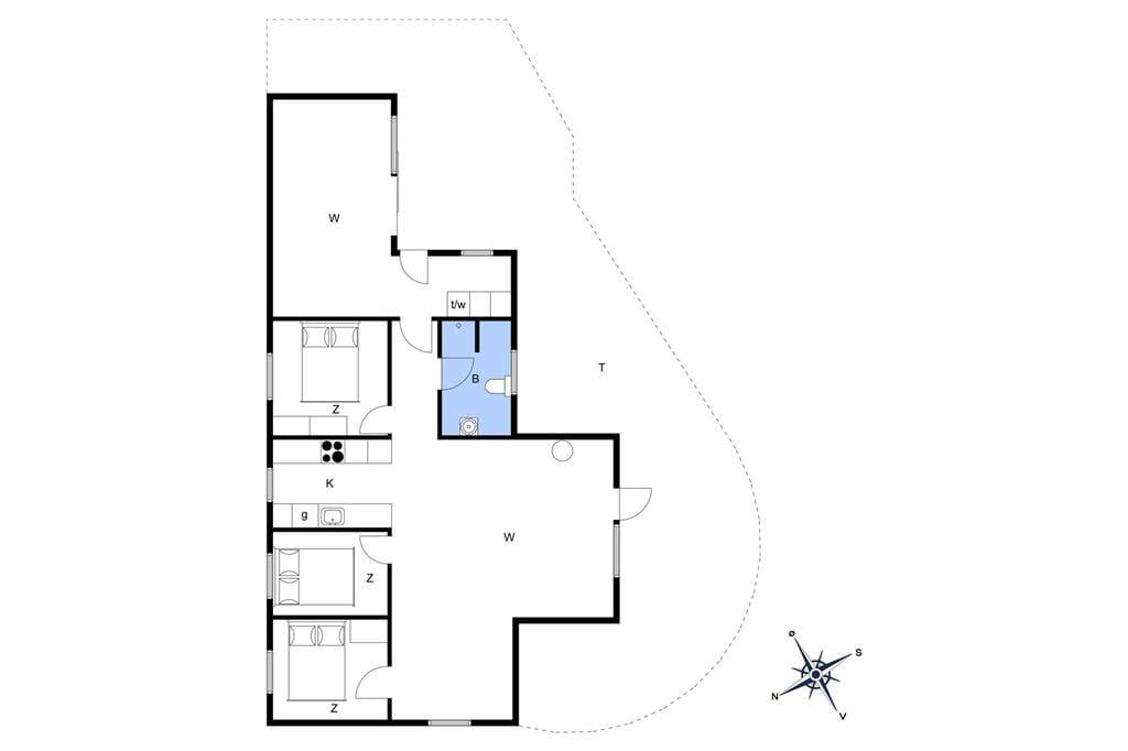 Indretning 1-22 Sommerhus C11153, Horsfold 141, DK - 6893 Hemmet