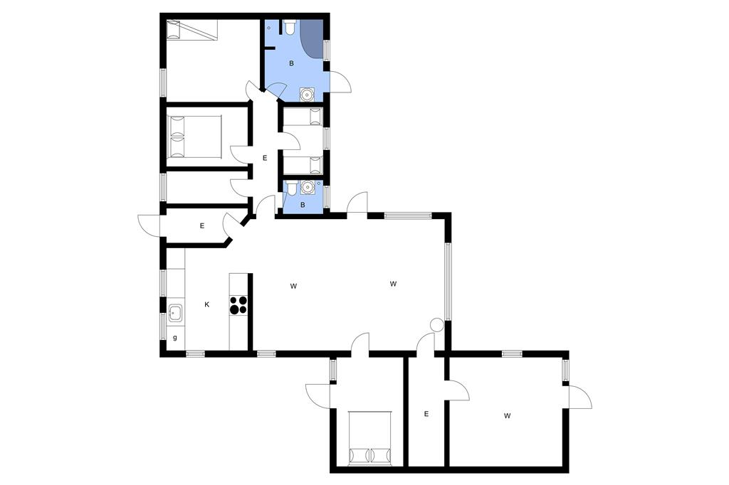 Innenausstattung 1-3 Ferienhaus M65291, Siøvej 23, DK - 5600 Faaborg