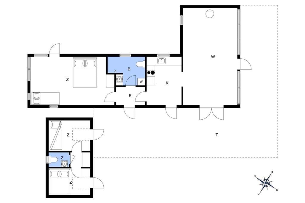 Indretning 1-17 Sommerhus 10022, Degnevænget 12, DK - 4581 Rørvig