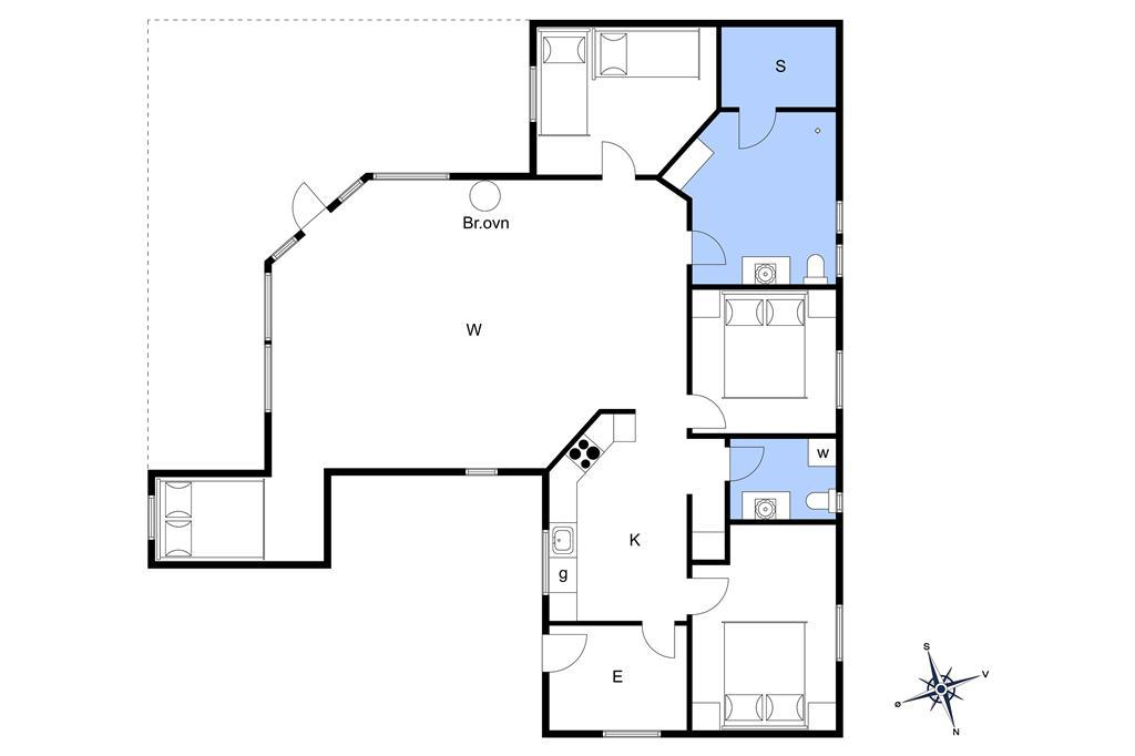 Innenausstattung 1-3 Ferienhaus F503520, Trappendalvej 49, DK - 6094 Hejls