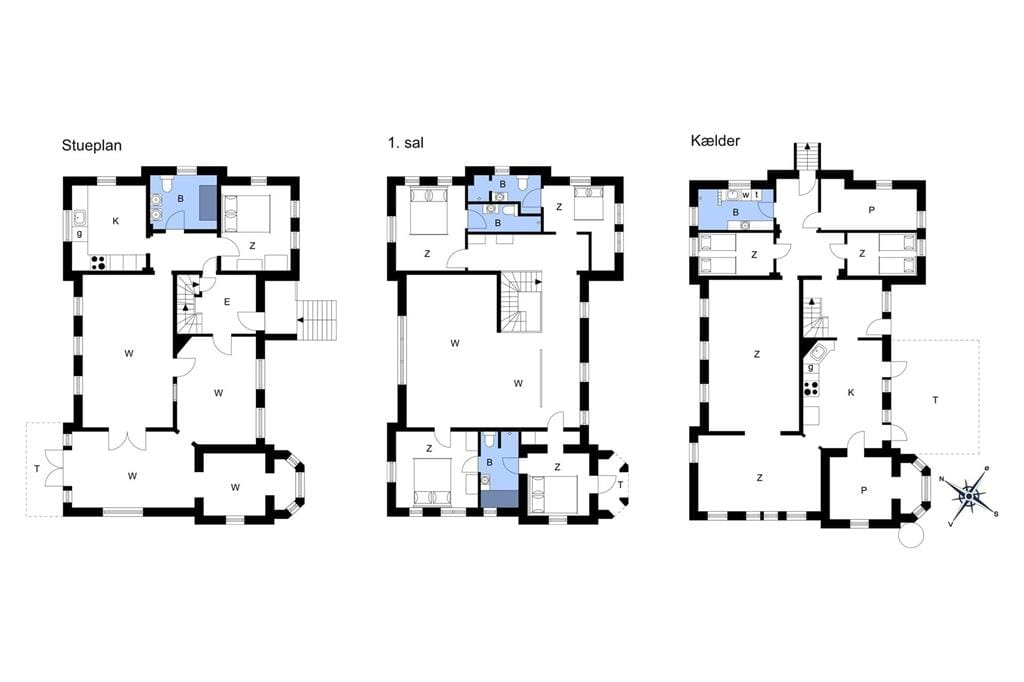 Indretning 1-3 Sommerhus M67352, Rue 8, DK - 5900 Rudkøbing