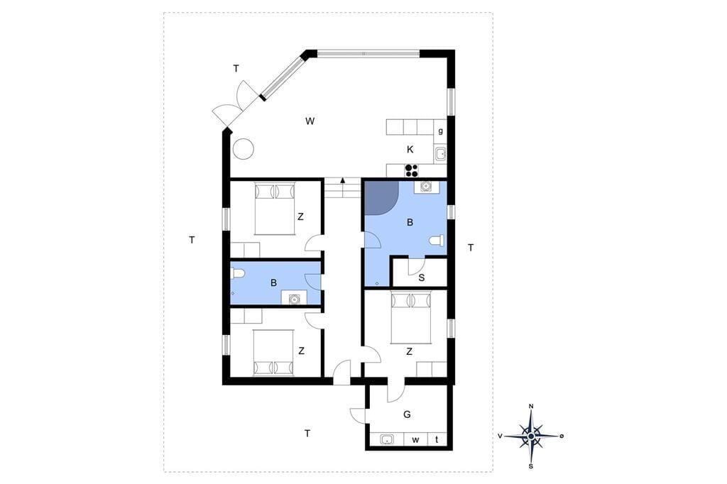 Indretning 1-13 Sommerhus 906, Ajs Mølls Vej 19, DK - 7700 Thisted