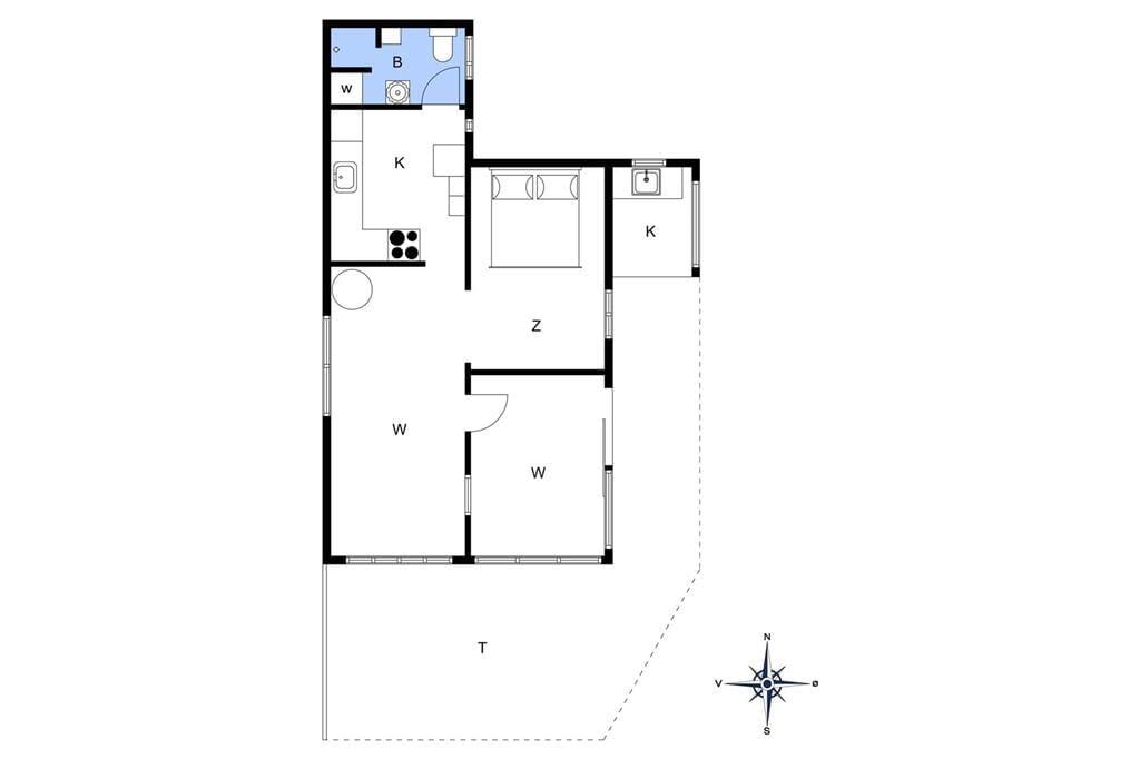 Interieur 1-14 Vakantiehuis 1742, Lunekrogen 5, DK - 9490 Pandrup