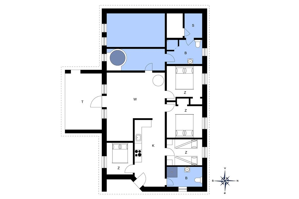 Interieur 1-20 Vakantiehuis 302, Fourmivej 74, DK - 7673 Harboøre