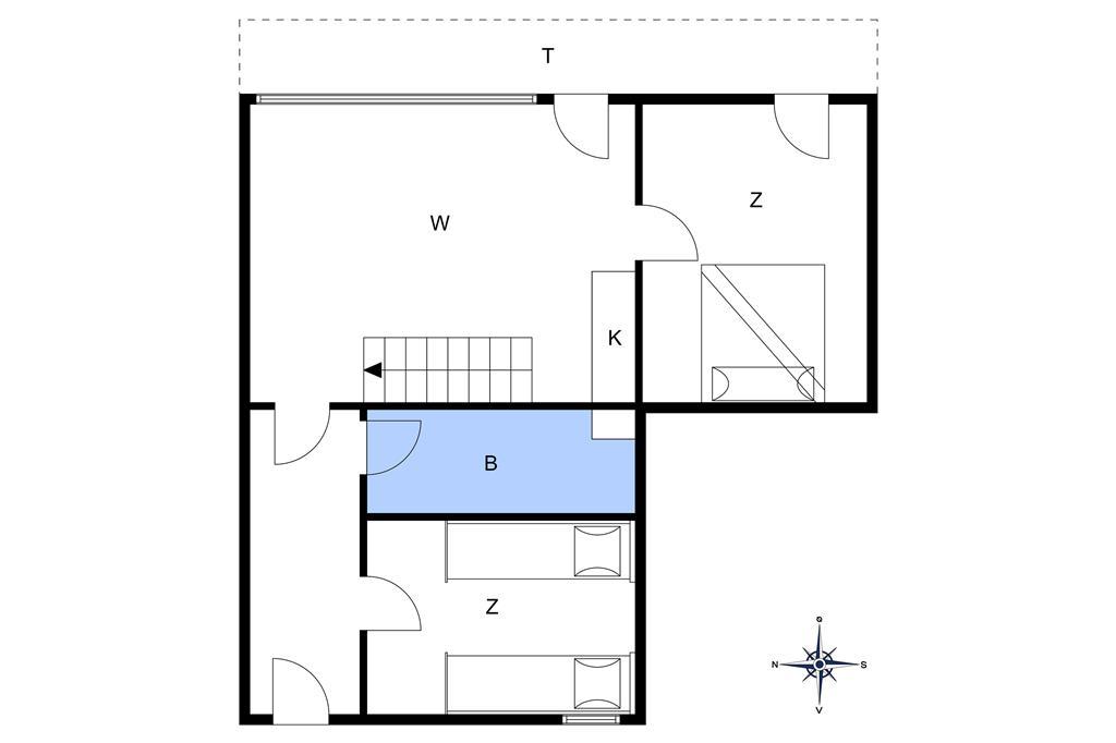 Interieur 1-4 Vakantiehuis 112, Lodbergsvej 247, DK - 6960 Hvide Sande