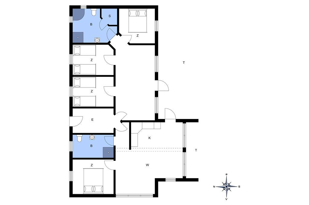 Innenausstattung 1-20 Ferienhaus 141, Neerlandiavej 19, DK - 7673 Harboøre