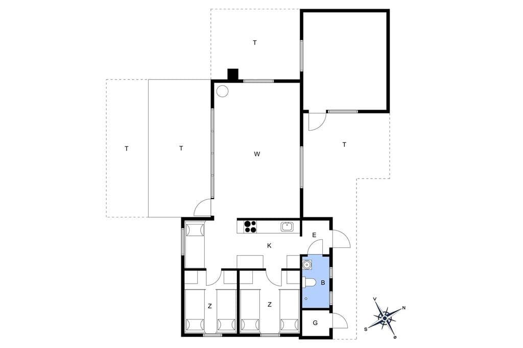 Interior 1-17 Holiday-home 16615, Alfestien 10, DK - 4540 Fårevejle