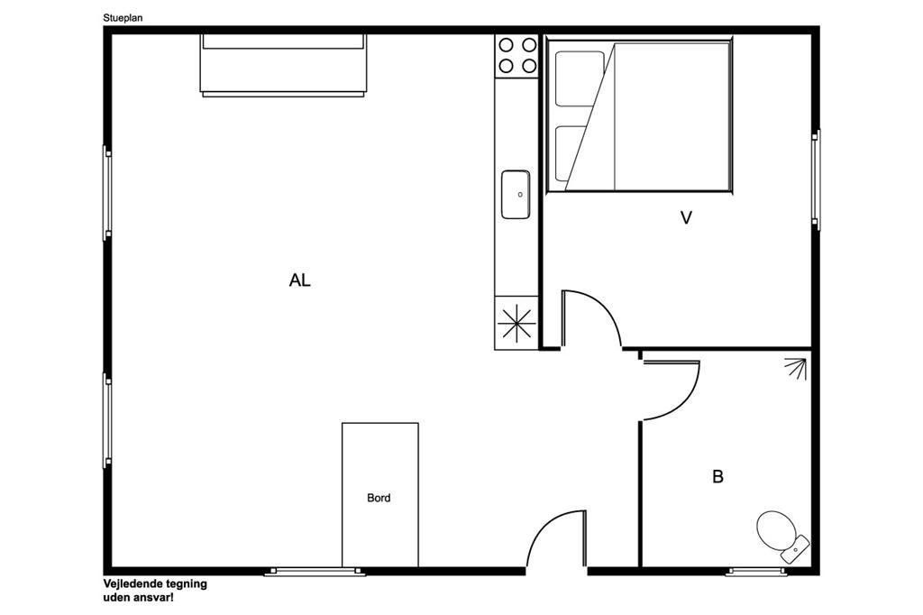 Interieur 1-170 Vakantiehuis 20210, Vestervang 18, DK - 8305 Samsø