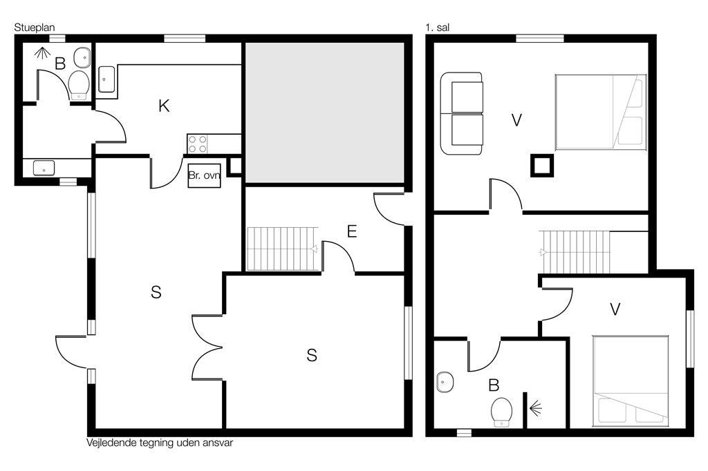 Interieur 1-170 Vakantiehuis 20601, Nordby Hovedgade 2, DK - 8305 Samsø