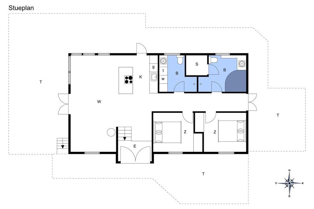 Interieur 1-14 Vakantiehuis 1362, Kronhjortvej 19, DK - 9493 Saltum