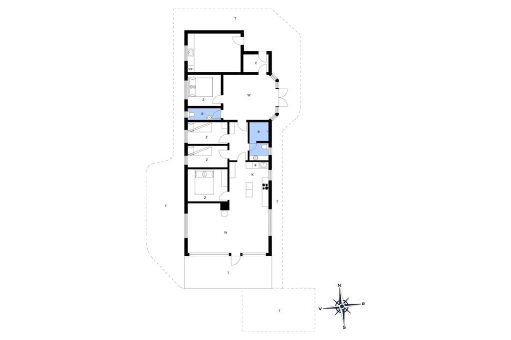 Innenausstattung 1-14 Ferienhaus 1107, Sinnesvej 44, DK - 9480 Løkken