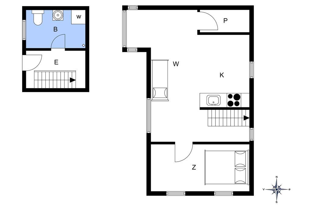 Interior 1-172 Holiday-home JB811, Slettestrandvej 80, DK - 9690 Fjerritslev