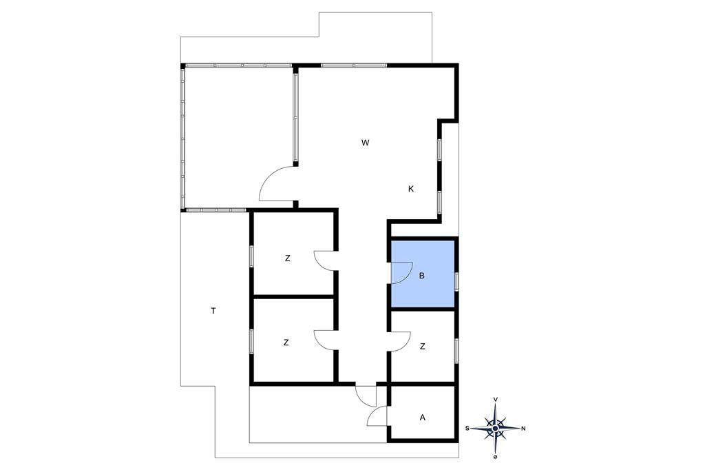 Interior 1-10 Holiday-home 2615, Aspesgårdsskoven 44, DK - 3720 Aakirkeby