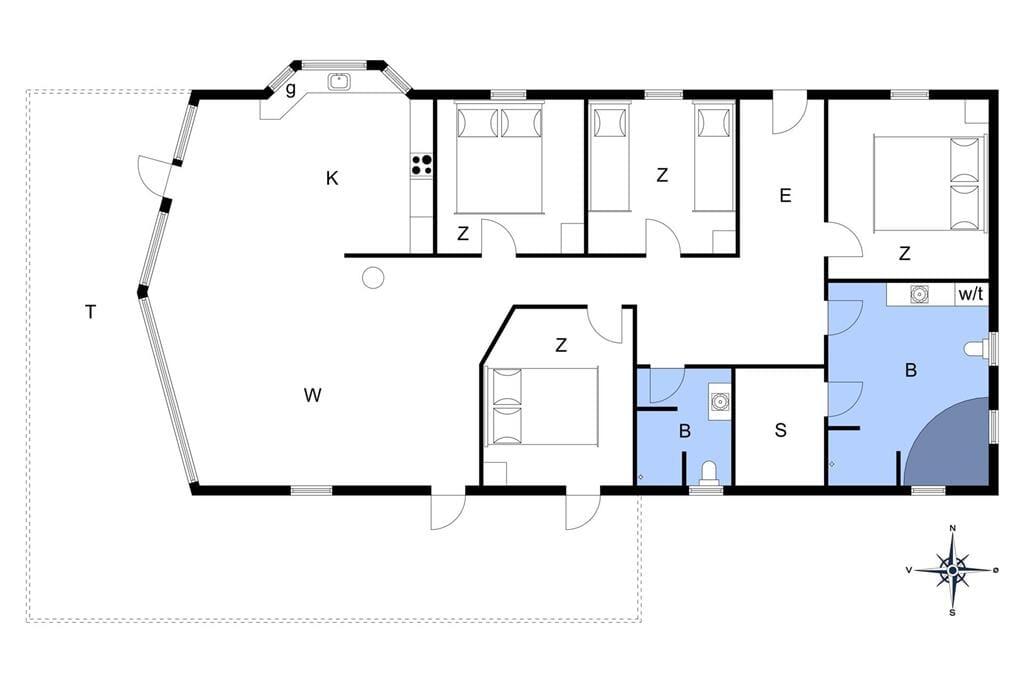 Interior 1-13 Holiday-home 506, Nordsøvej 202, DK - 7700 Thisted
