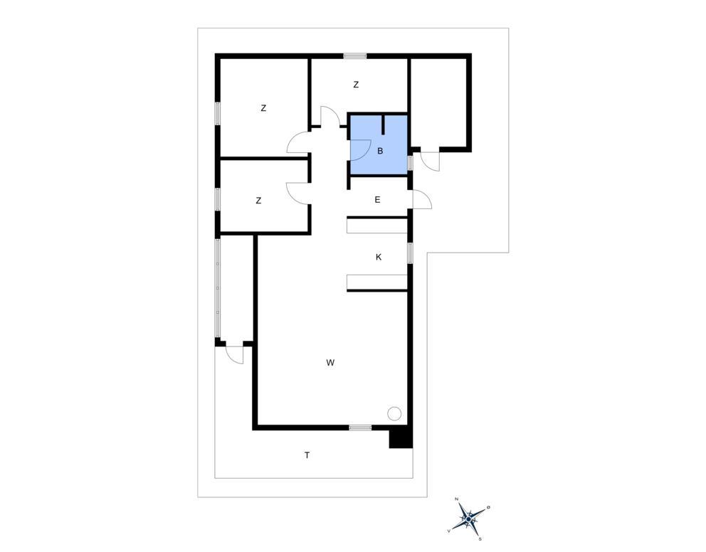 Interieur 1-10 Vakantiehuis 1414, Poserekrogen 34, DK - 3720 Aakirkeby
