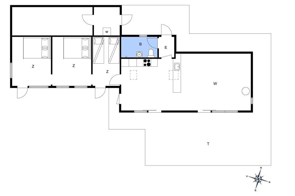 Indretning 1-1336 Sommerhus 1075-N, Hyrdeleddet 5, DK - 3220 Tisvildeleje