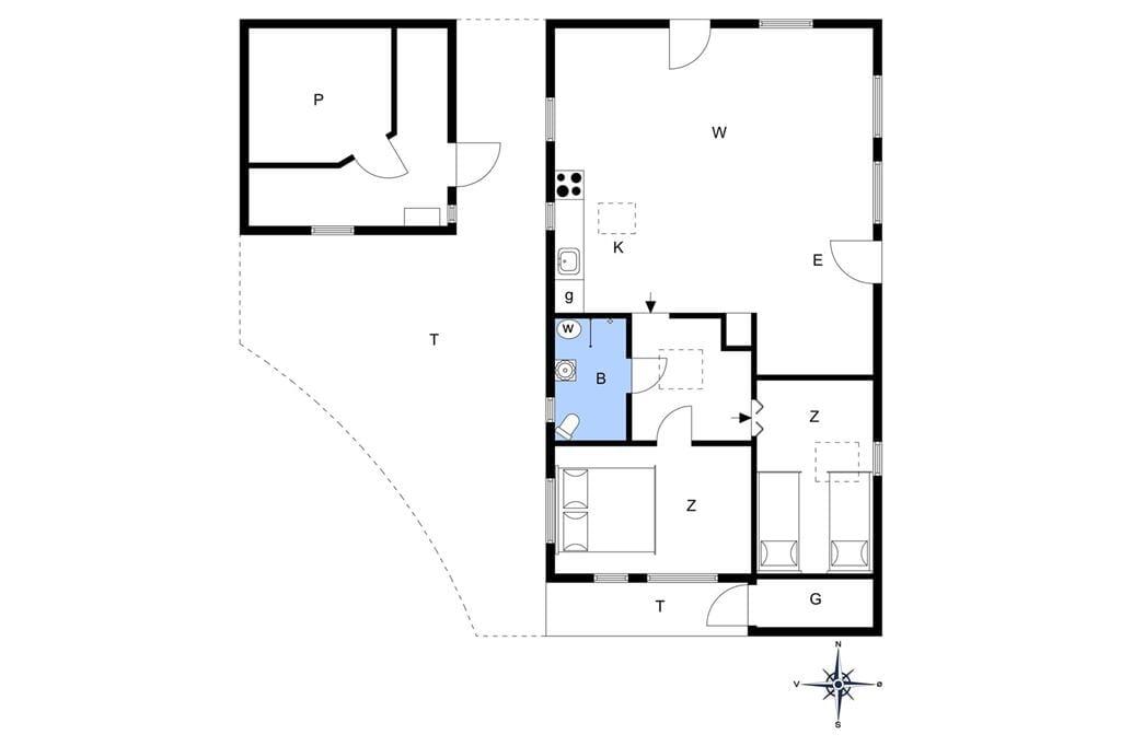 Indretning 1-22 Sommerhus C11186, Horsfold 8, DK - 6893 Hemmet