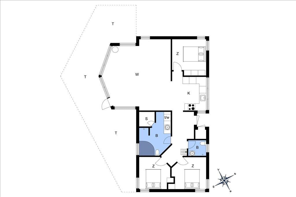 Innenausstattung 27-20 Ferienhaus 234, Neerlandiavej 21, DK - 7673 Harboøre