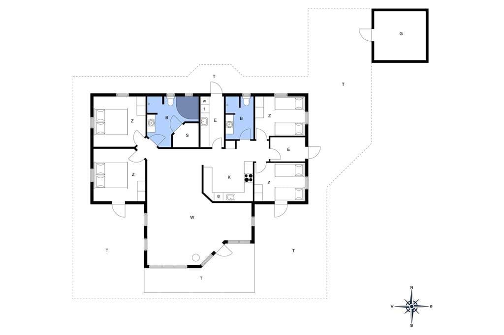Interior 1-14 Holiday-home 451, Trehøje 14, DK - 9493 Saltum