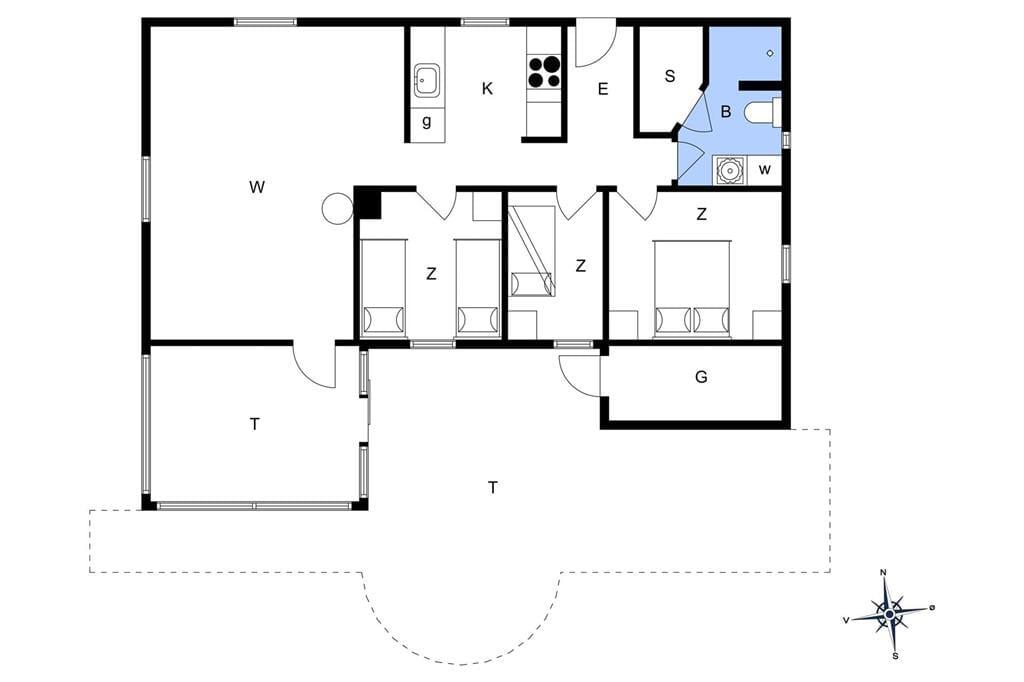 Interior 1-175 Holiday-home 40046, Hagevej 36, DK - 6990 Ulfborg