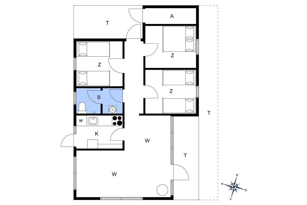 Innenausstattung 1-178 Ferienhaus LN75835, Havtornvej 36, DK - 9800 Hjørring