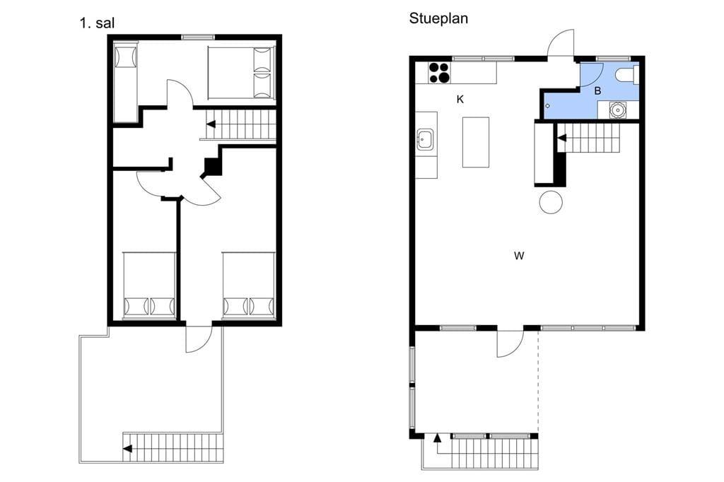 Interieur 1-3 Vakantiehuis L151100, Klydevej 8, DK - 9640 Farsø